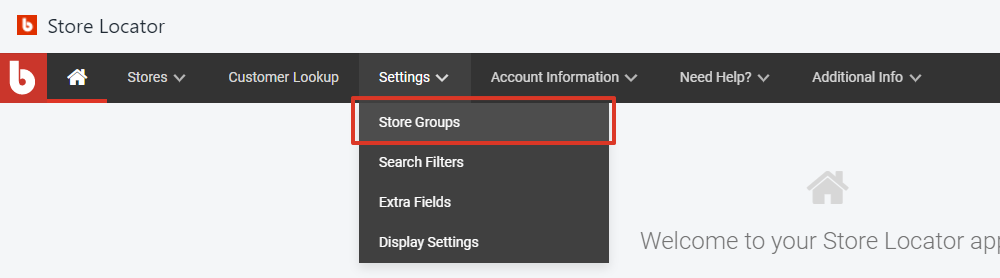 select store groups