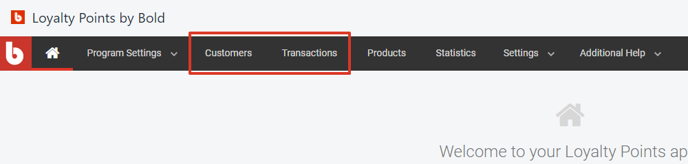 select customers or transactions