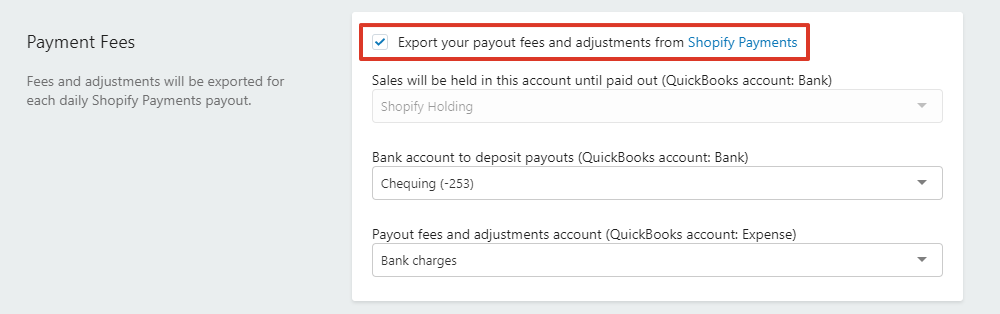 Quickbooks Export