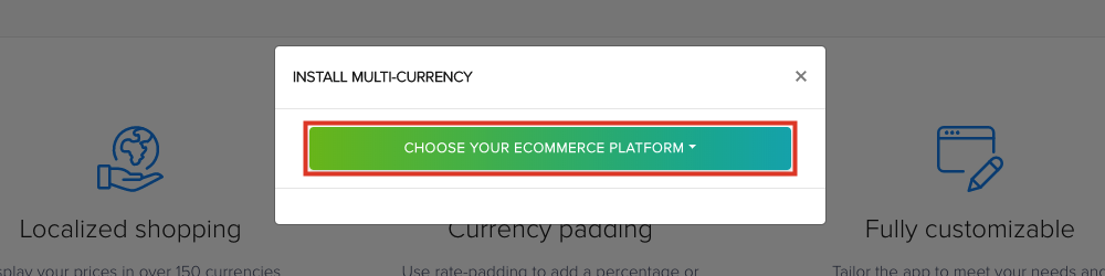 Select Choose Ecommerce Platform