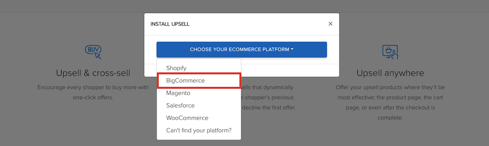 Select BigCommerce