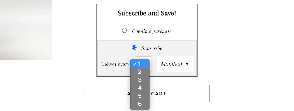 Subscription frequency
