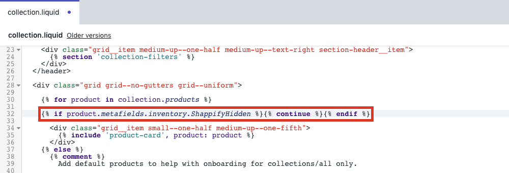 Paste for product collection code