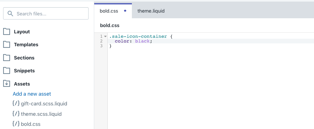 Add your CSS Styling